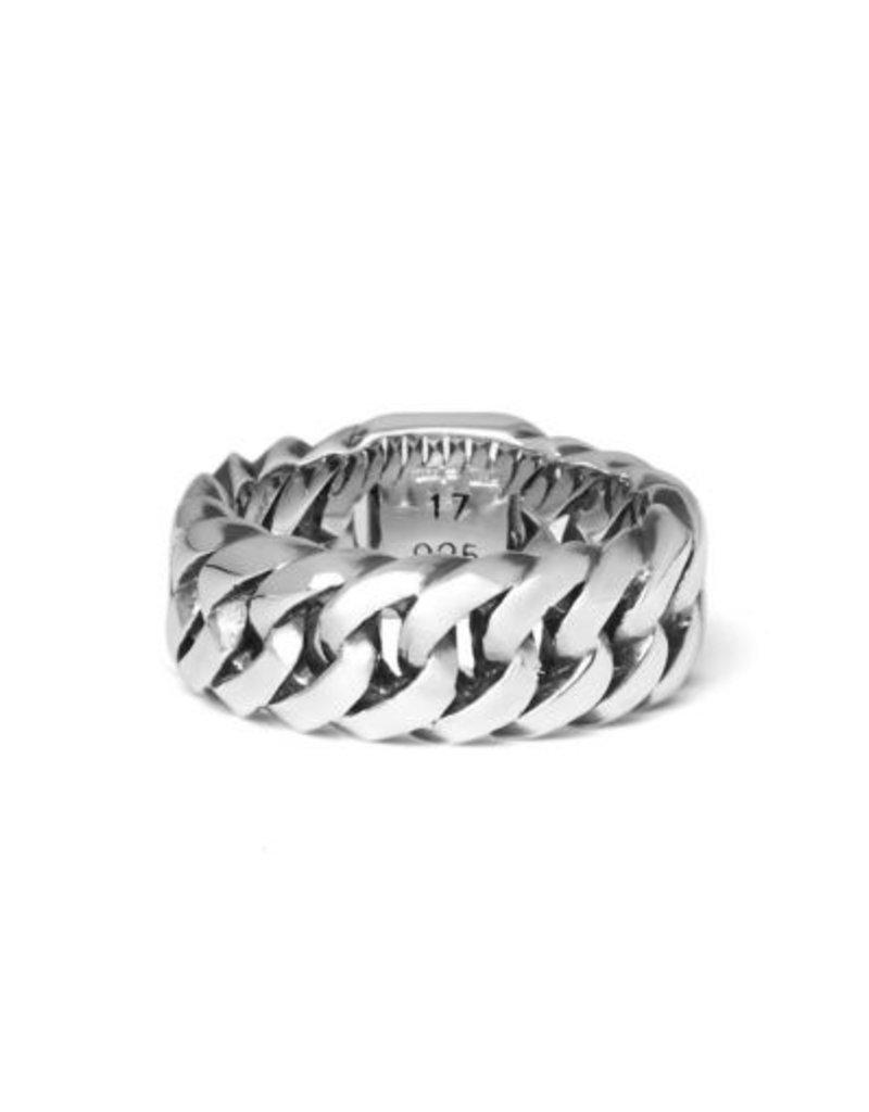Buddha to Buddha 925 Sterling Zilveren 541 Chain Small Ring