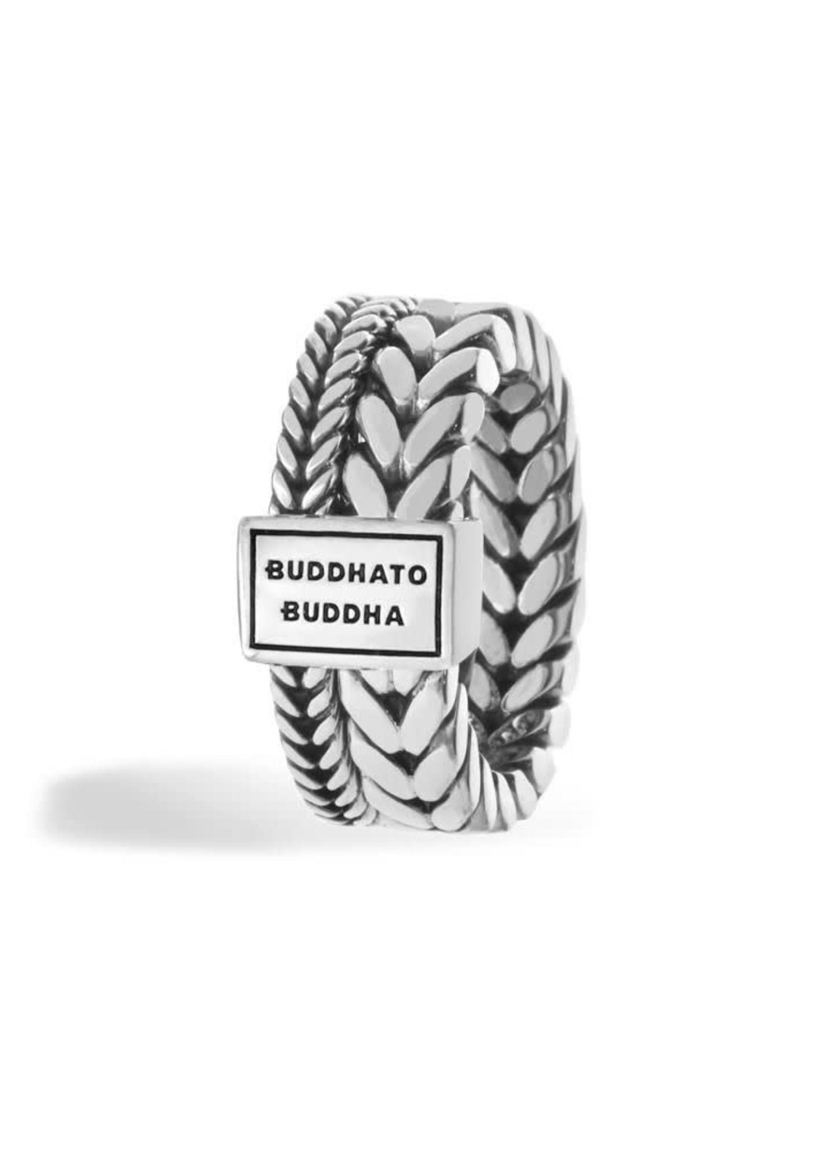 Buddha to Buddha 925 Sterling Zilveren 609 Barbara Dubbel Ring