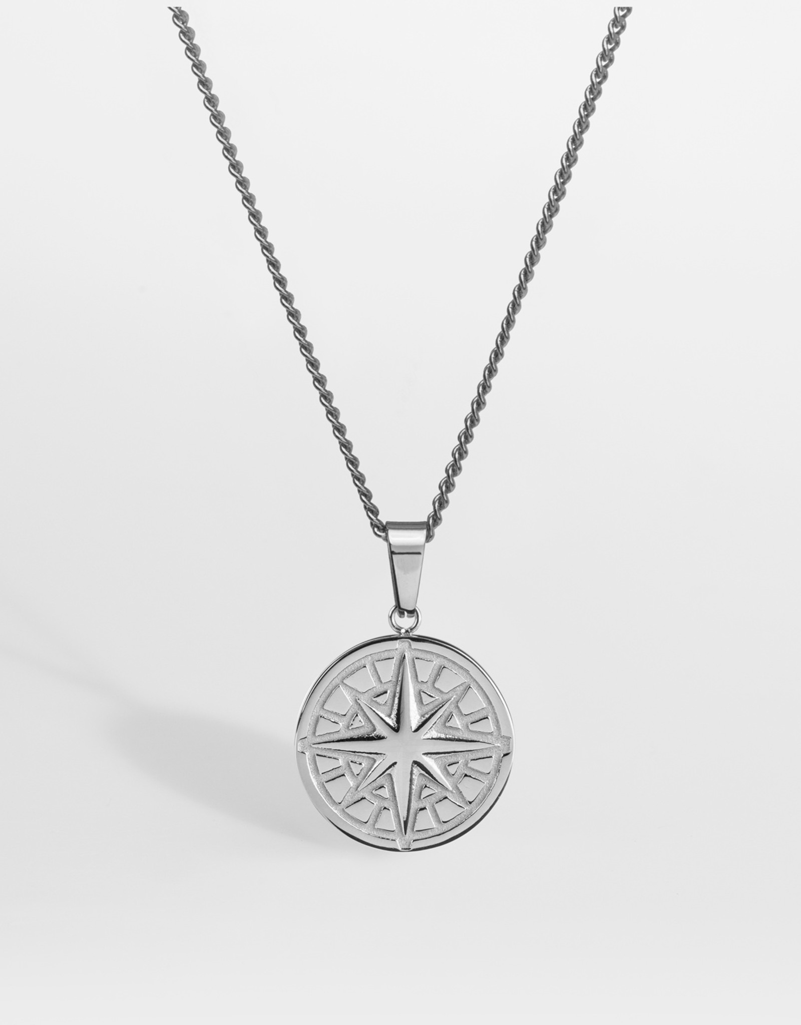 Northern Legacy Nl Compass Pendant 2.0 - Silver