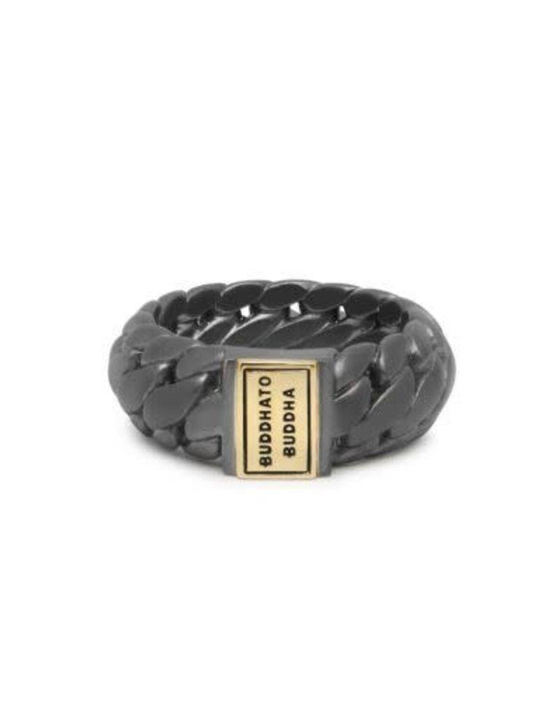 Buddha to Buddha 925 Sterling Zilveren 542brg Ring Ben Small Black Rhodium Goud