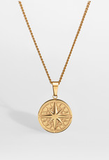 Northern Legacy nl Compass pendant 2.0 - Gold