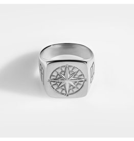 Northern Legacy compas signature silver