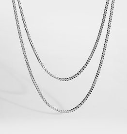 Northern Legacy nl double chain silver