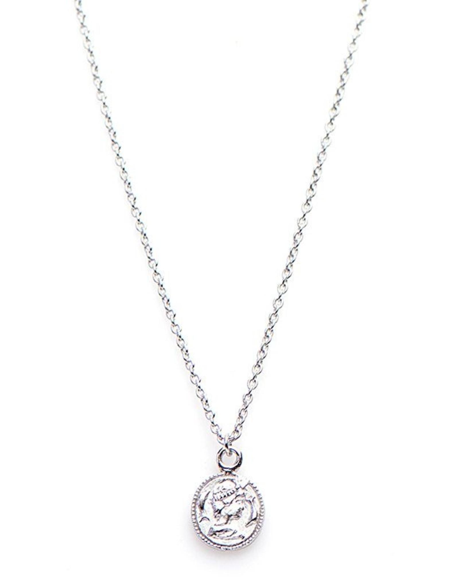 Karma Necklace Coin Silver