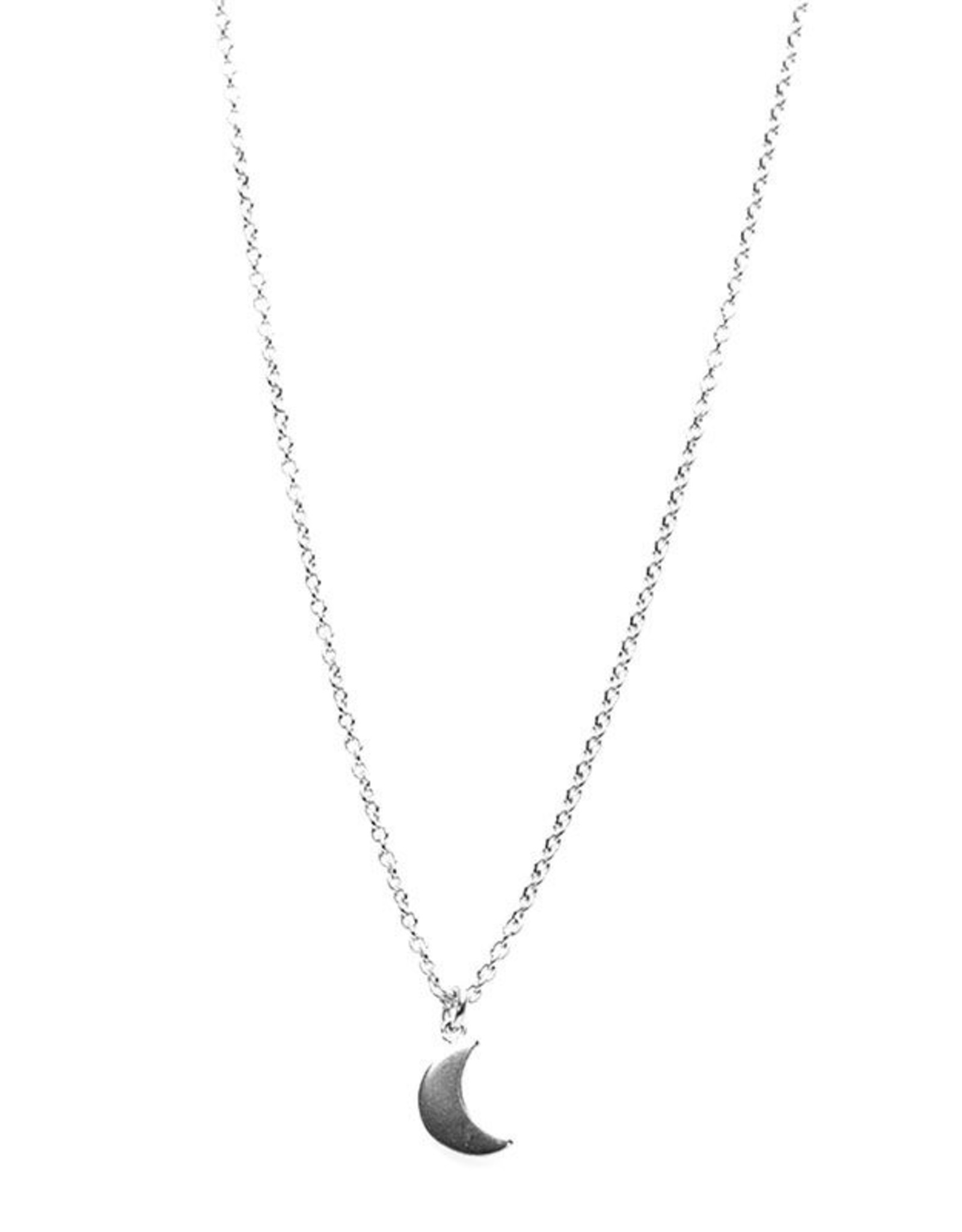 Karma Necklace Moon Silver