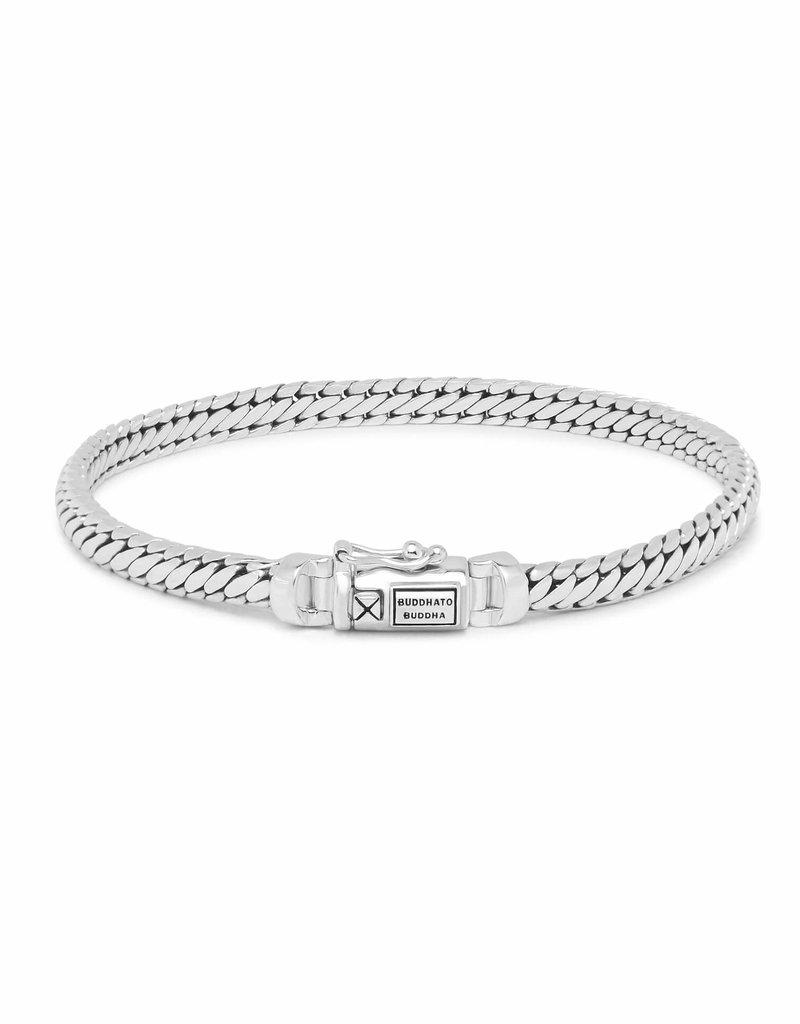 Buddha to Buddha 925 Sterling Zilveren j101 D ben mini bracelet silver 18cm