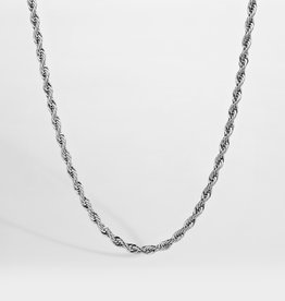 Northern Legacy nl rope necklace - silver