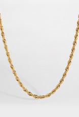 Northern Legacy nl rope necklace - gold
