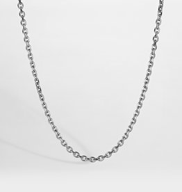 Northern Legacy nl cable necklace - silver