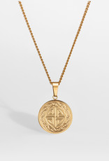 Northern Legacy nl knot pendant - gold tone