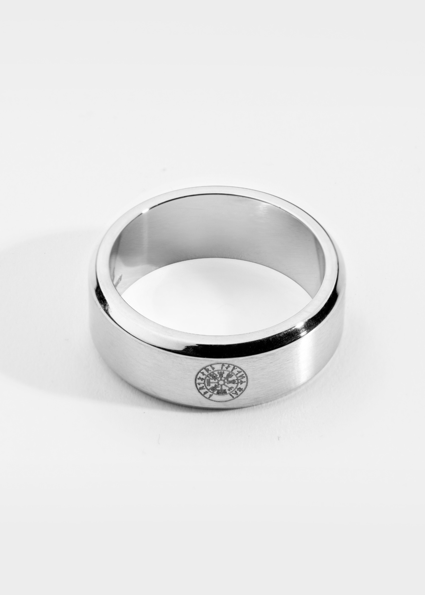 Northern Legacy siempre vegvisir band - silver tone ring mt20