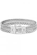 Buddha to Buddha j104 f - triple mini bracelet silver