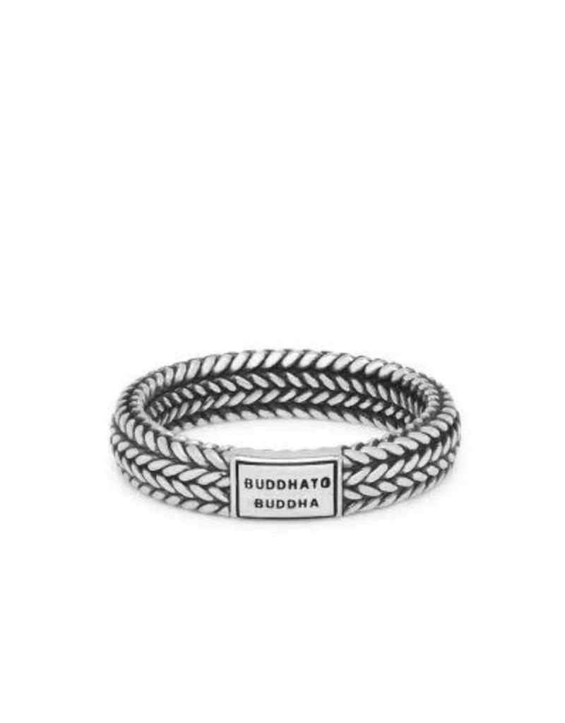 Buddha to Buddha 925 Sterling Zilveren 106 17.5 - Ellen Small Ring Silver