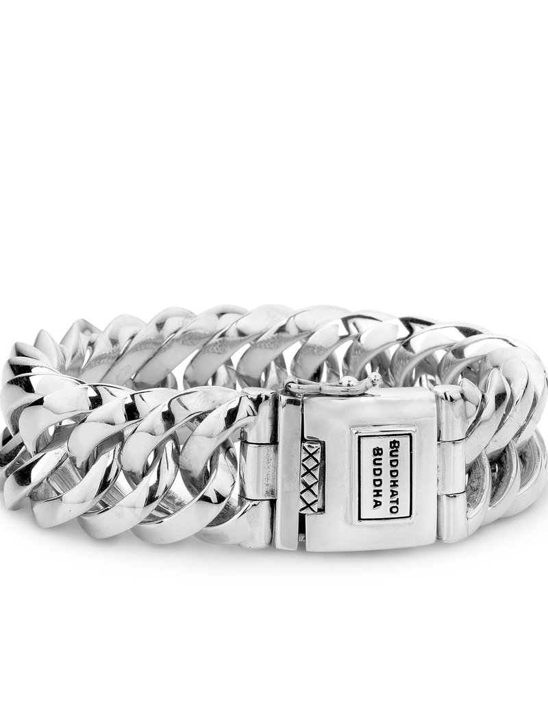 Buddha to Buddha 925 Sterling Zilveren 080 F - Chain Big Bracelet