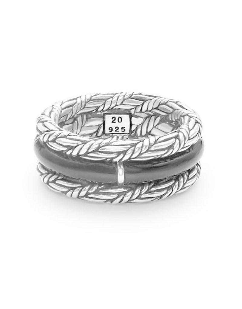 Buddha to Buddha 925 Sterling Zilveren 103 Katut Ring Stone 20