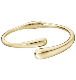 Calvin Klein Open Ellipse, Gold Plated, Bracelet