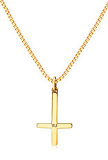 Northern Legacy nl cross pendant - gold