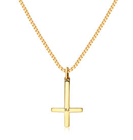Northern Legacy nl cross pendant - gold