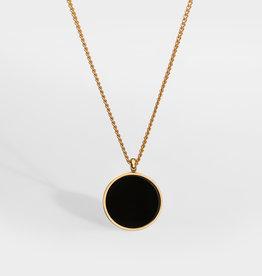 Northern Legacy nl black onyx pendant gold