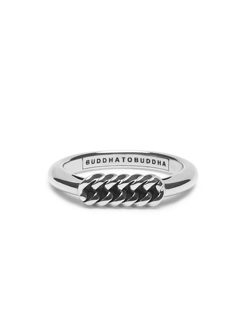 Buddha to Buddha 925 Sterling Zilveren Refined Chain Ring 16