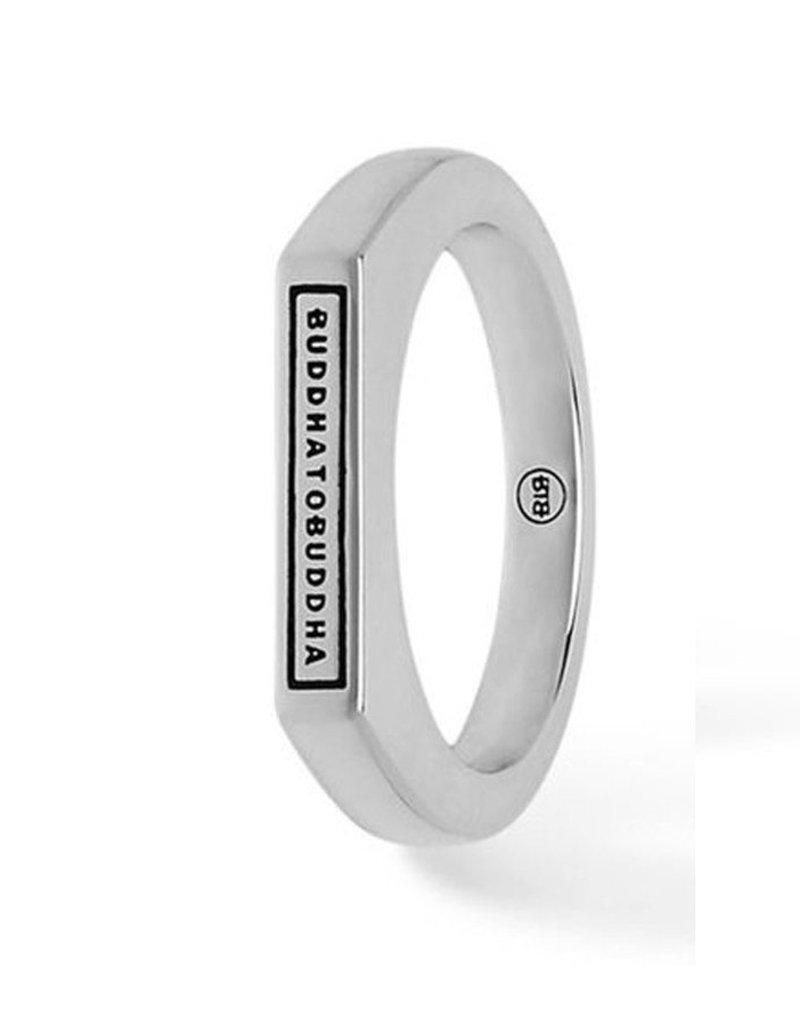Buddha to Buddha 925 Sterling Zilveren 055 16 Tangguh Signet Logo Ring