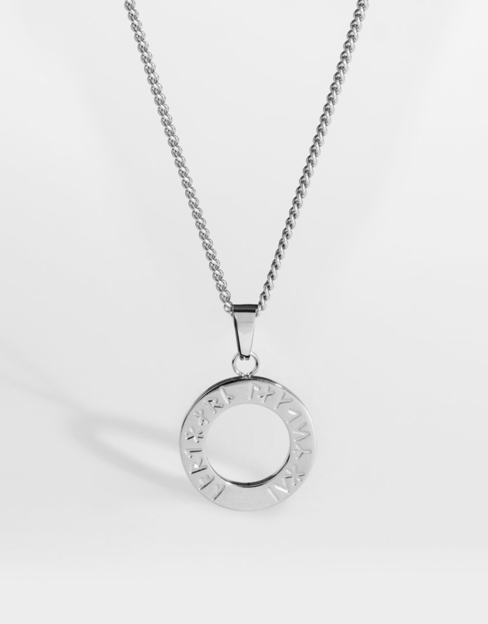 Northern Legacy NL Ragnar Pendant Silver Tone