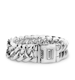 Buddha to Buddha 925 Sterling Zilveren 080 E - Chain Big Bracelet silver