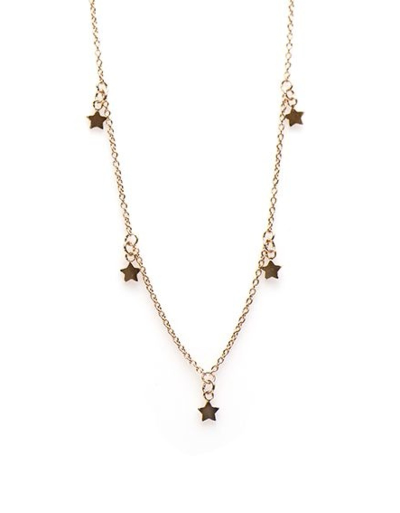 Karma Necklace 5 Stars Roseplated