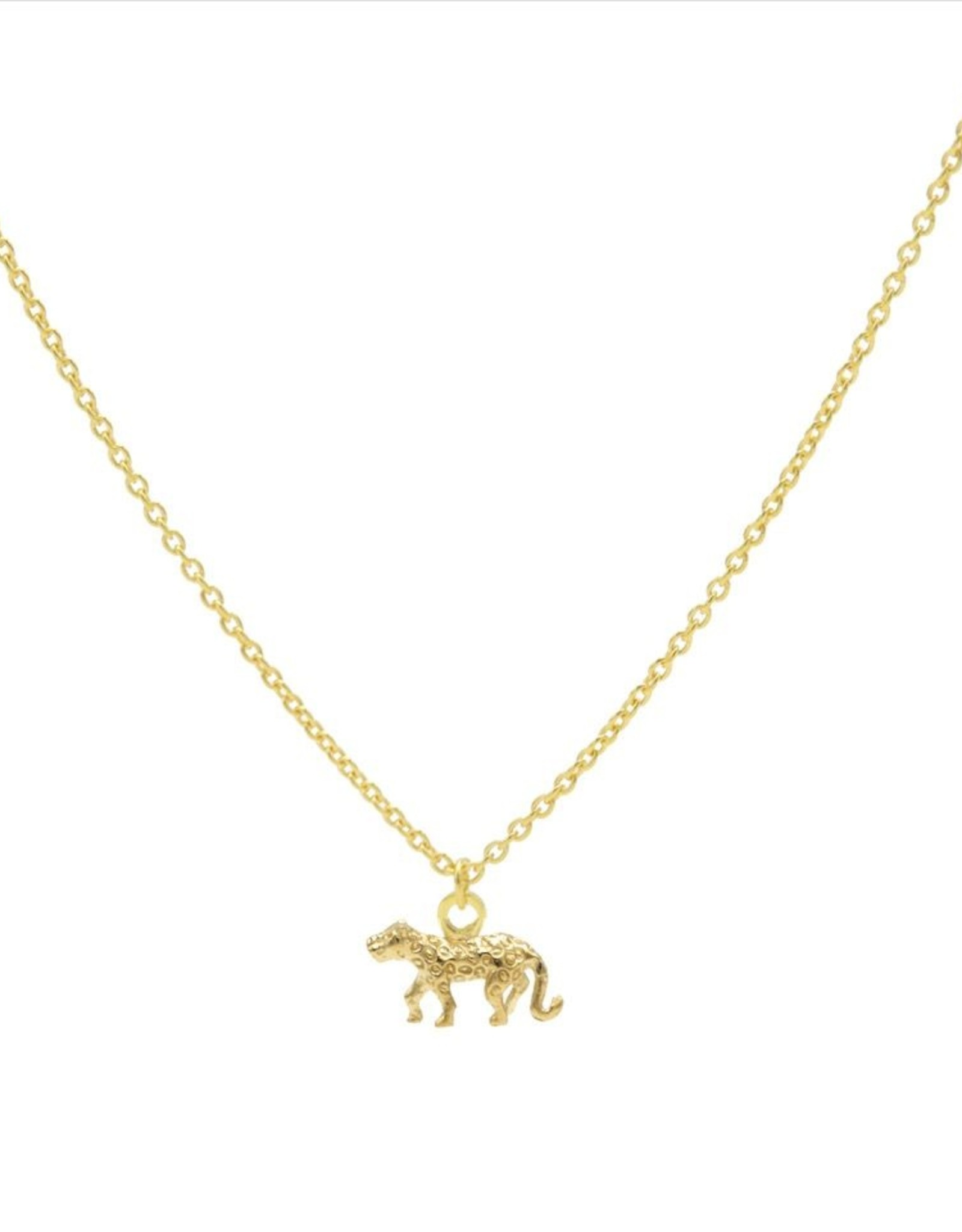Karma Necklace Leopard 3 Goldplated