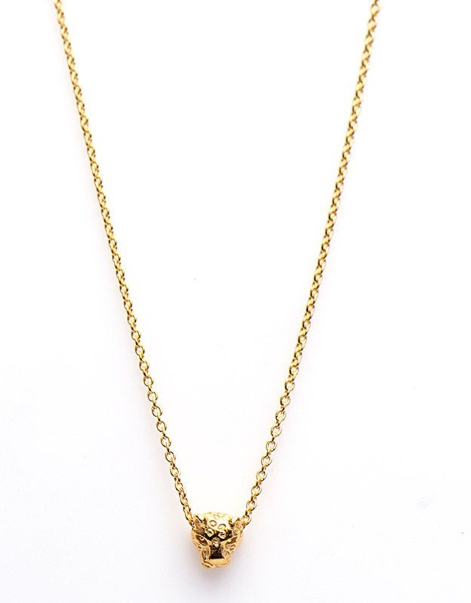 Karma Necklace Leopard 2 Goldplated