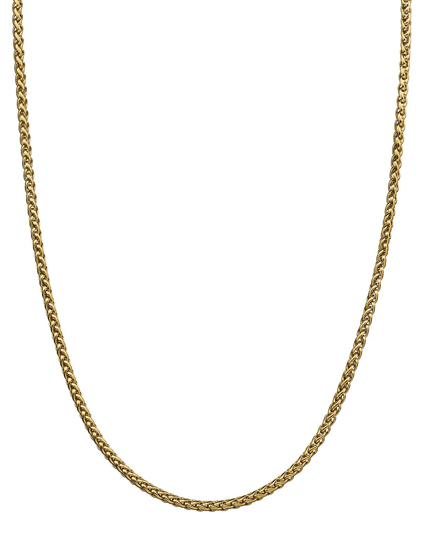 Croyez Chain wheat 3mm 14k gold 55cm