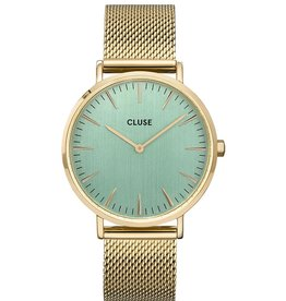 Cluse Boho Chic Mesh, Green/Gold