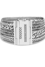 Buddha to Buddha 925 Sterling Zilveren 124 Multi Chain Nathallie Bracelet Silver