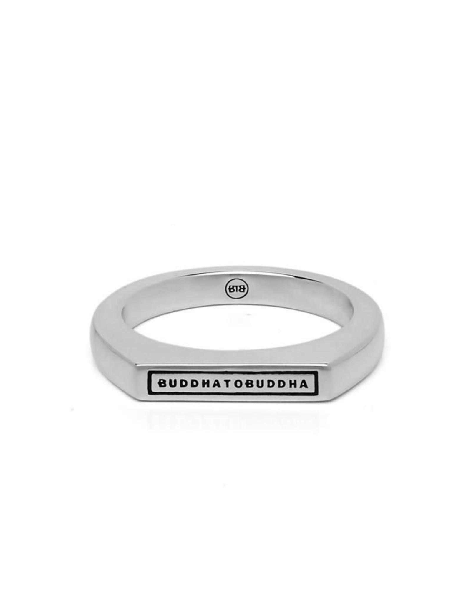Buddha to Buddha 925 Sterling Zilveren 055 Tangguh Signet Logo Ring