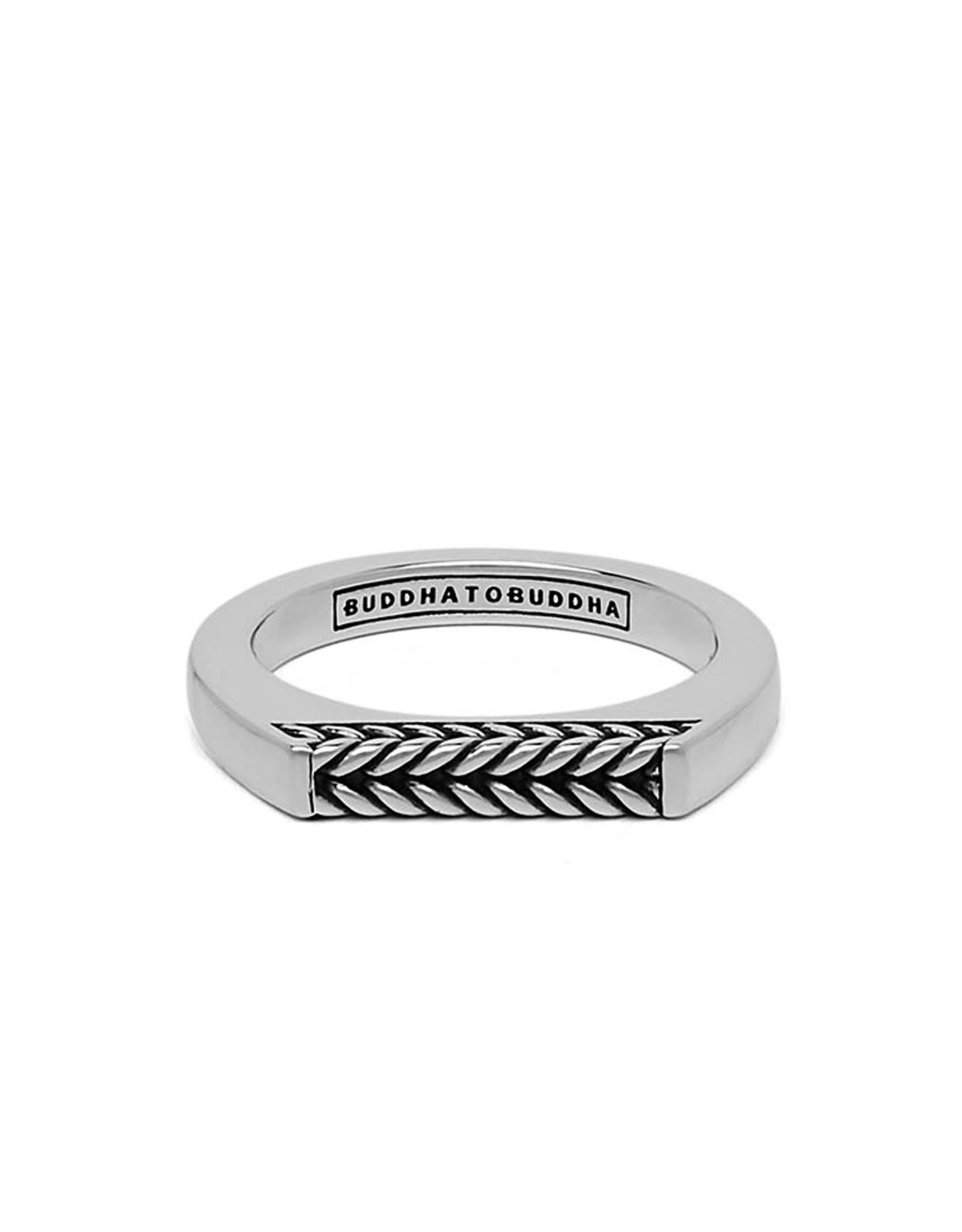 Buddha to Buddha 925 Sterling Zilveren 053 Ring Tangguh Signet Barbara