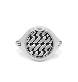 Buddha to Buddha 925 Sterling Zilveren 052 Tangguh Signet Chain Ring