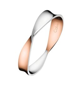 Calvin Klein Supple Ring, Rose/Steel