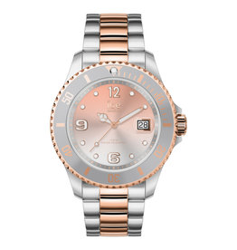Ice Watch ice steel silver sunset rose gold medium