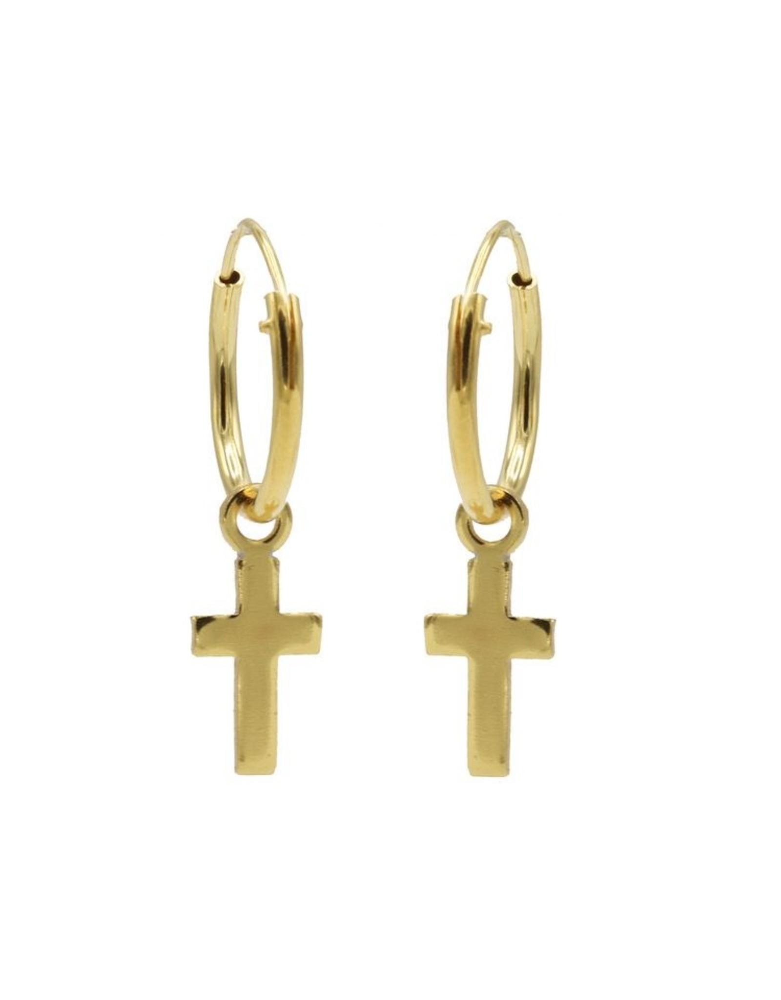 Karma Hoops Symbols Faith Goldplated Set