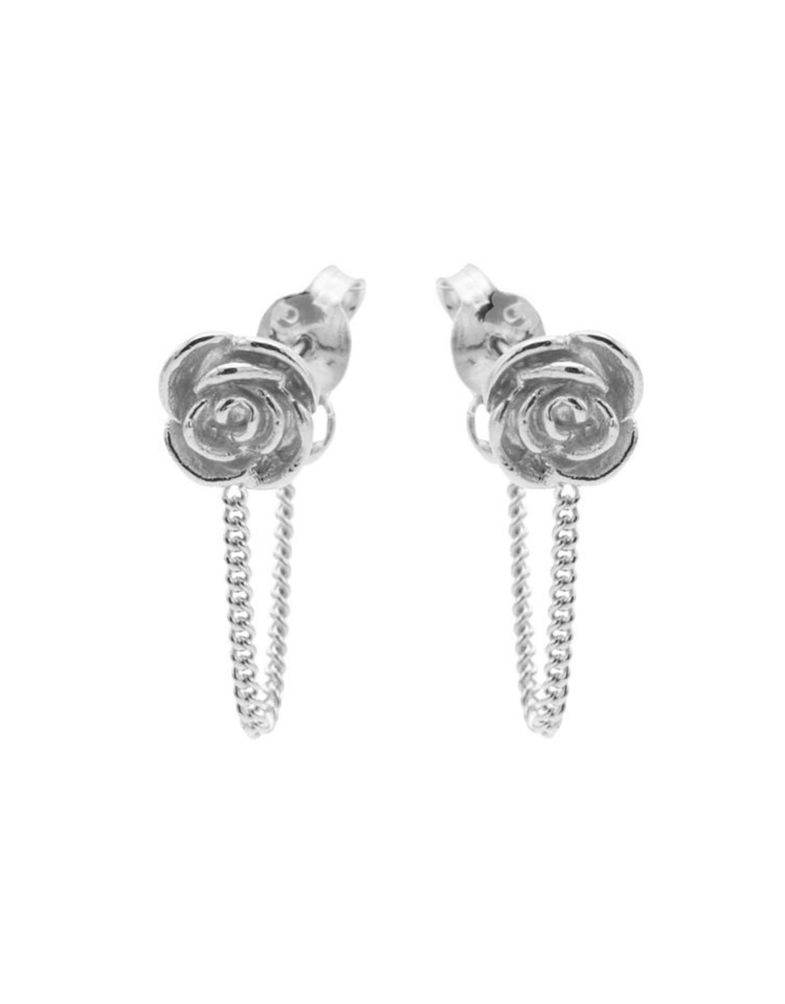 Karma Chain Rose Silver Set