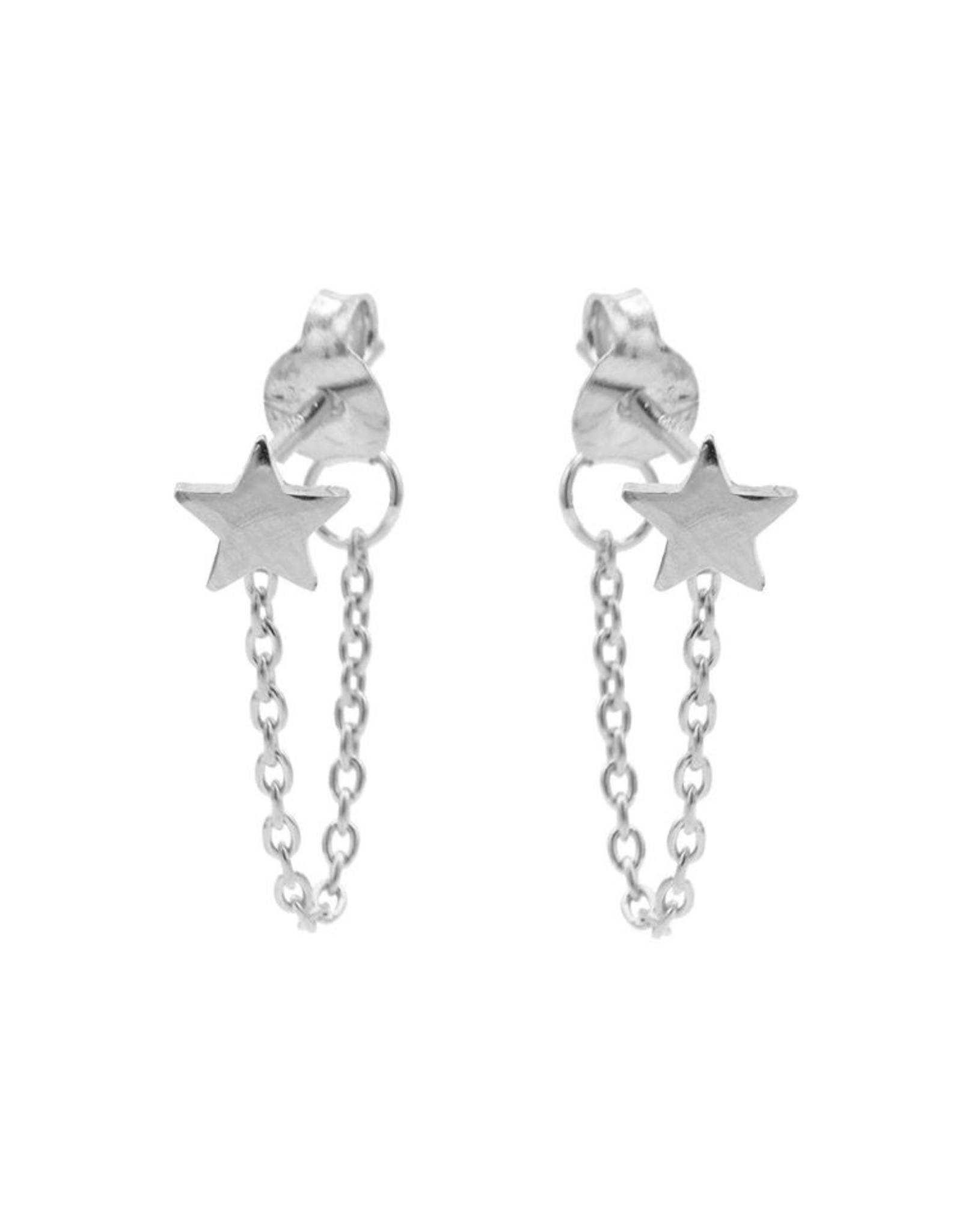 Karma Chain Star Silver Set