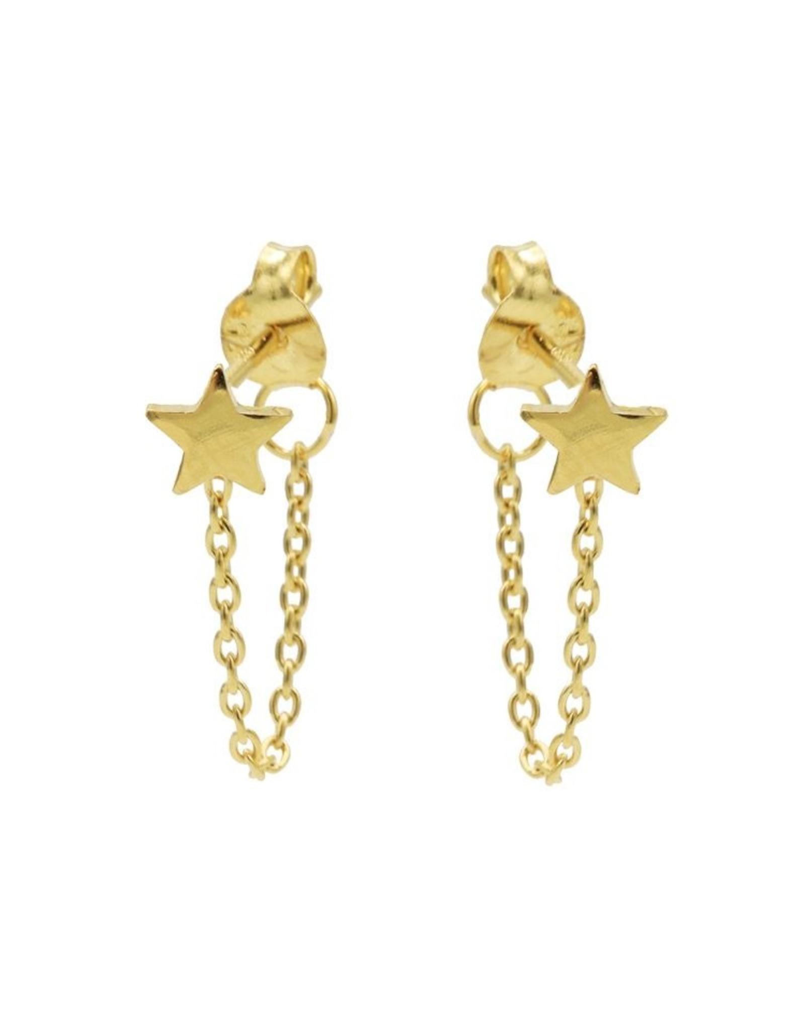 Karma Chain Star Goldplated Set