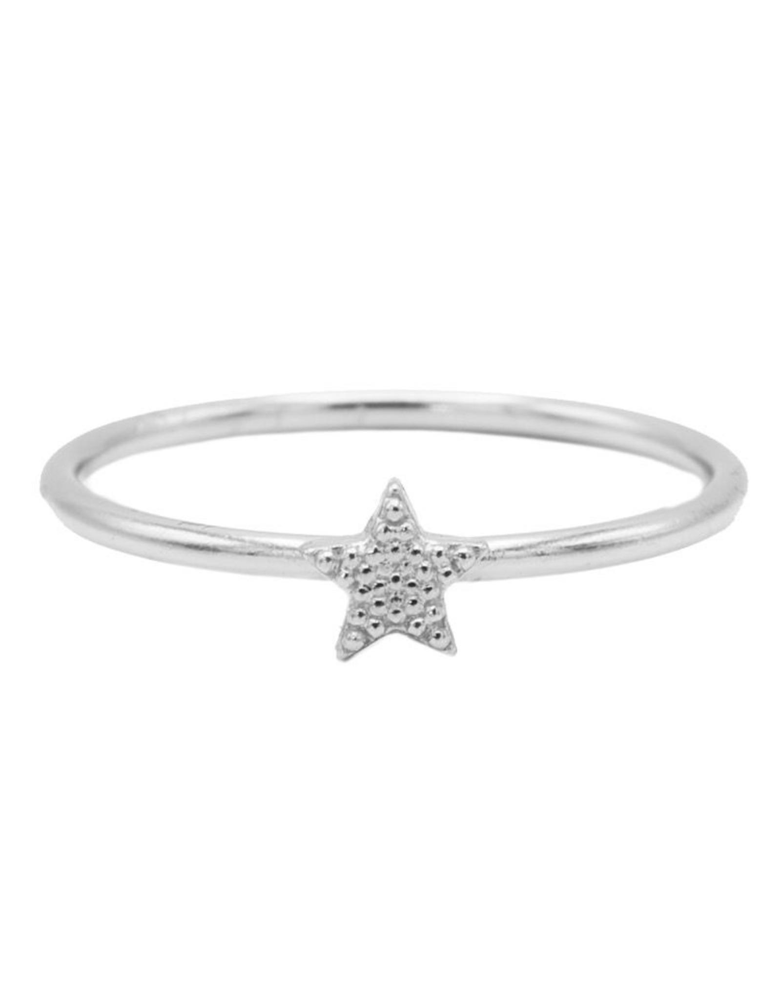 Karma Ring Star Silver 56