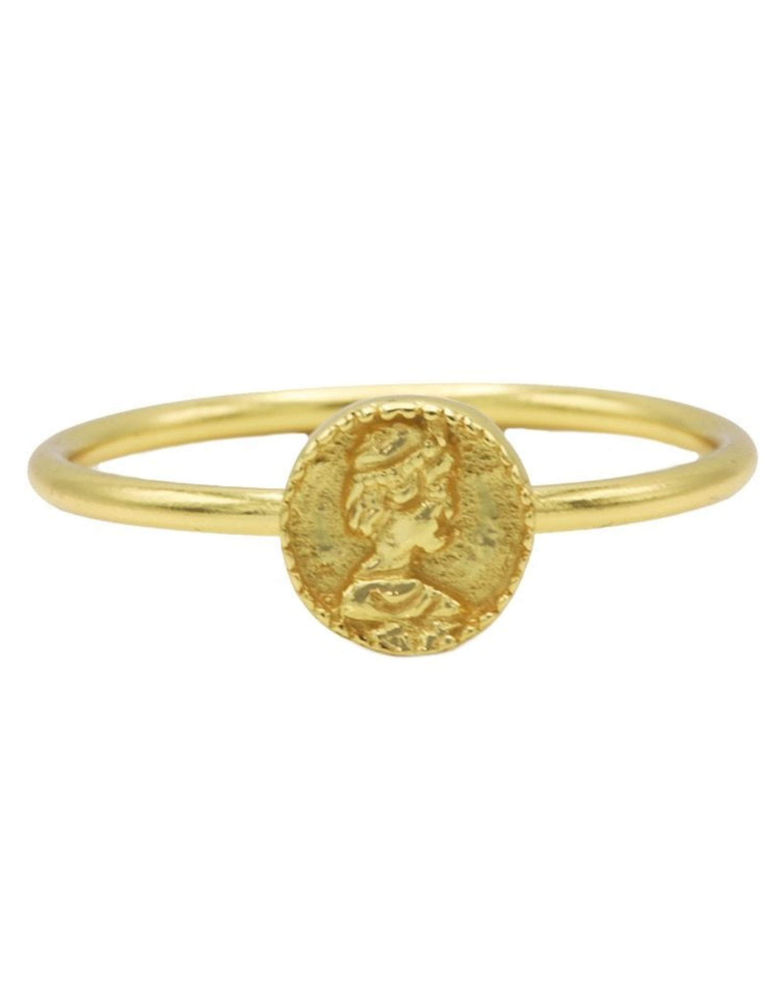Karma Ring Coin Goldplated 54