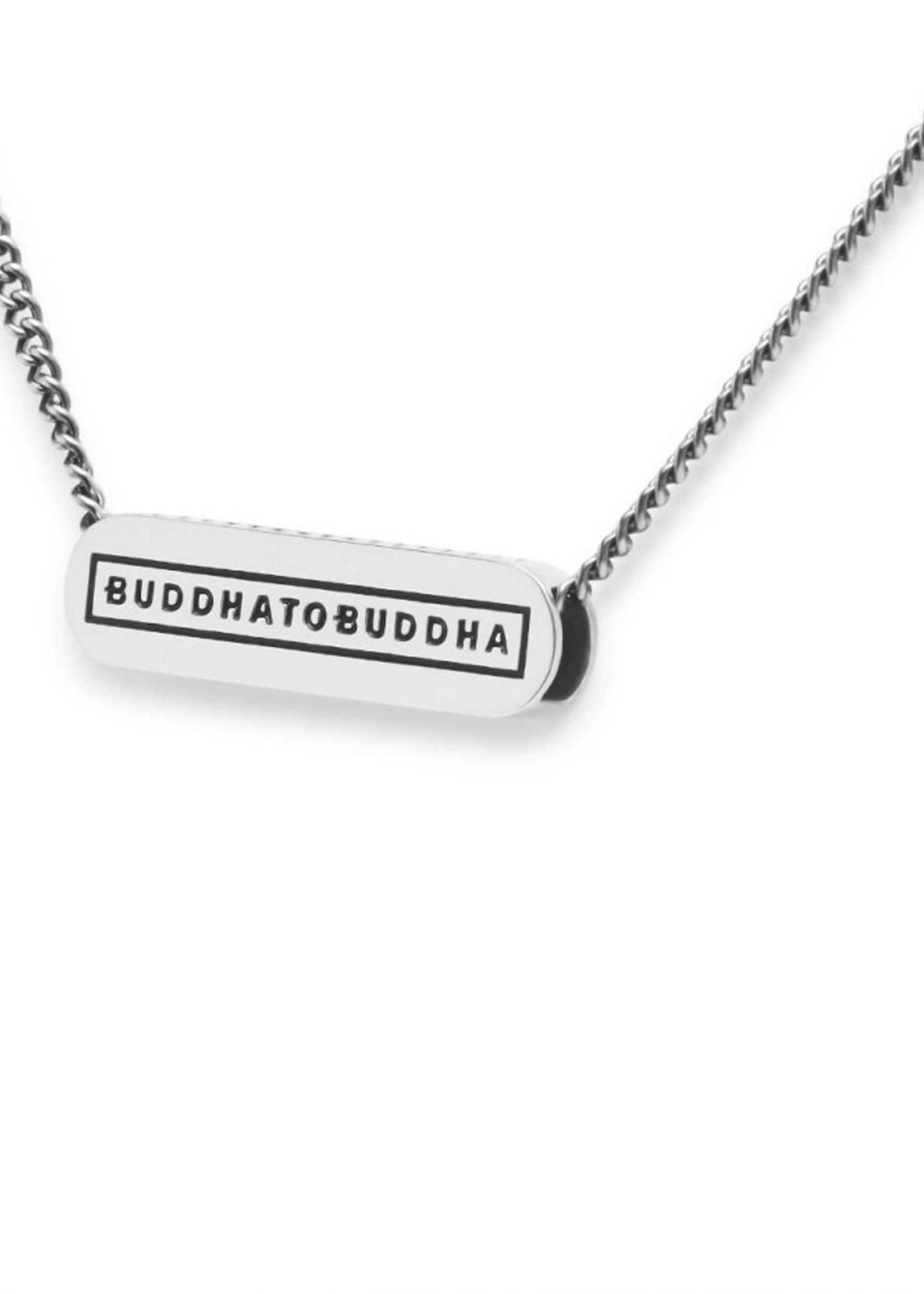 Buddha to Buddha 925 Sterling Zilveren 681 45,5cm - Essential Logo Necklace XS Silver