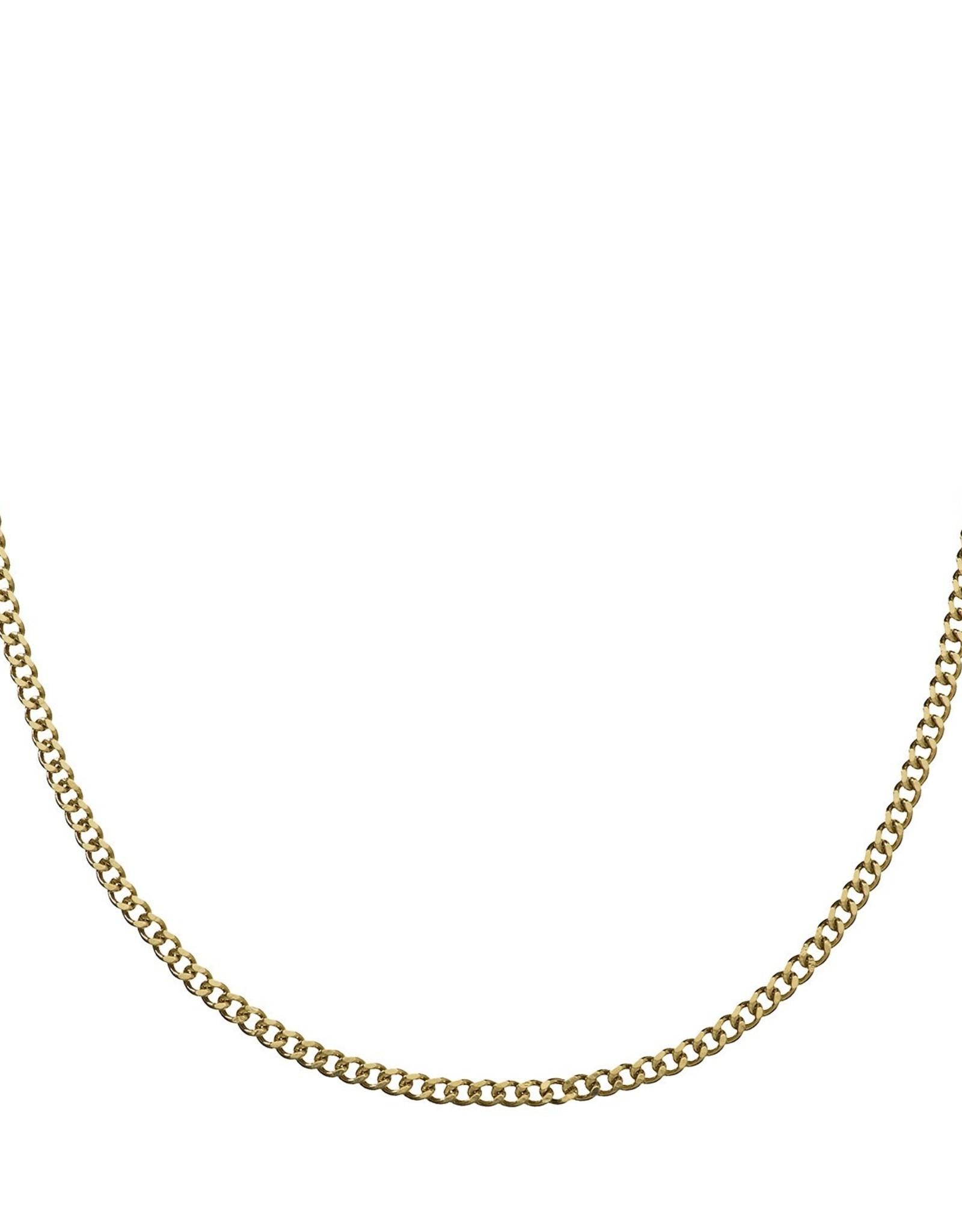 Croyez Gold Curbchain 65cm