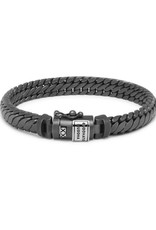 Buddha to Buddha 925 Sterling Zilveren Ben Xs Bracelet Black Rhodium Shine Silver D