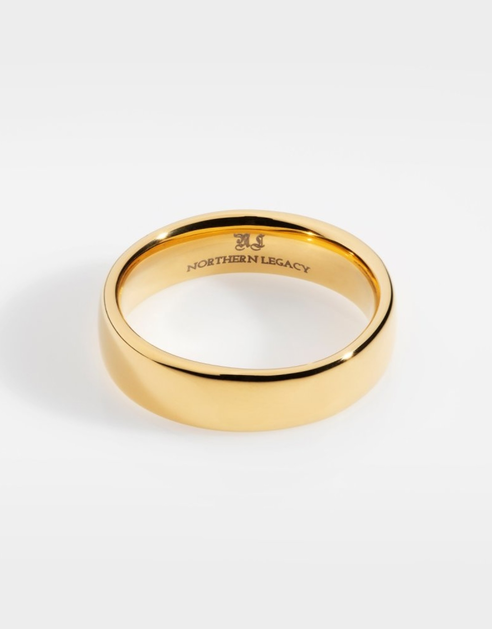Northern Legacy Siempre Band-Gold Tone Ring 11