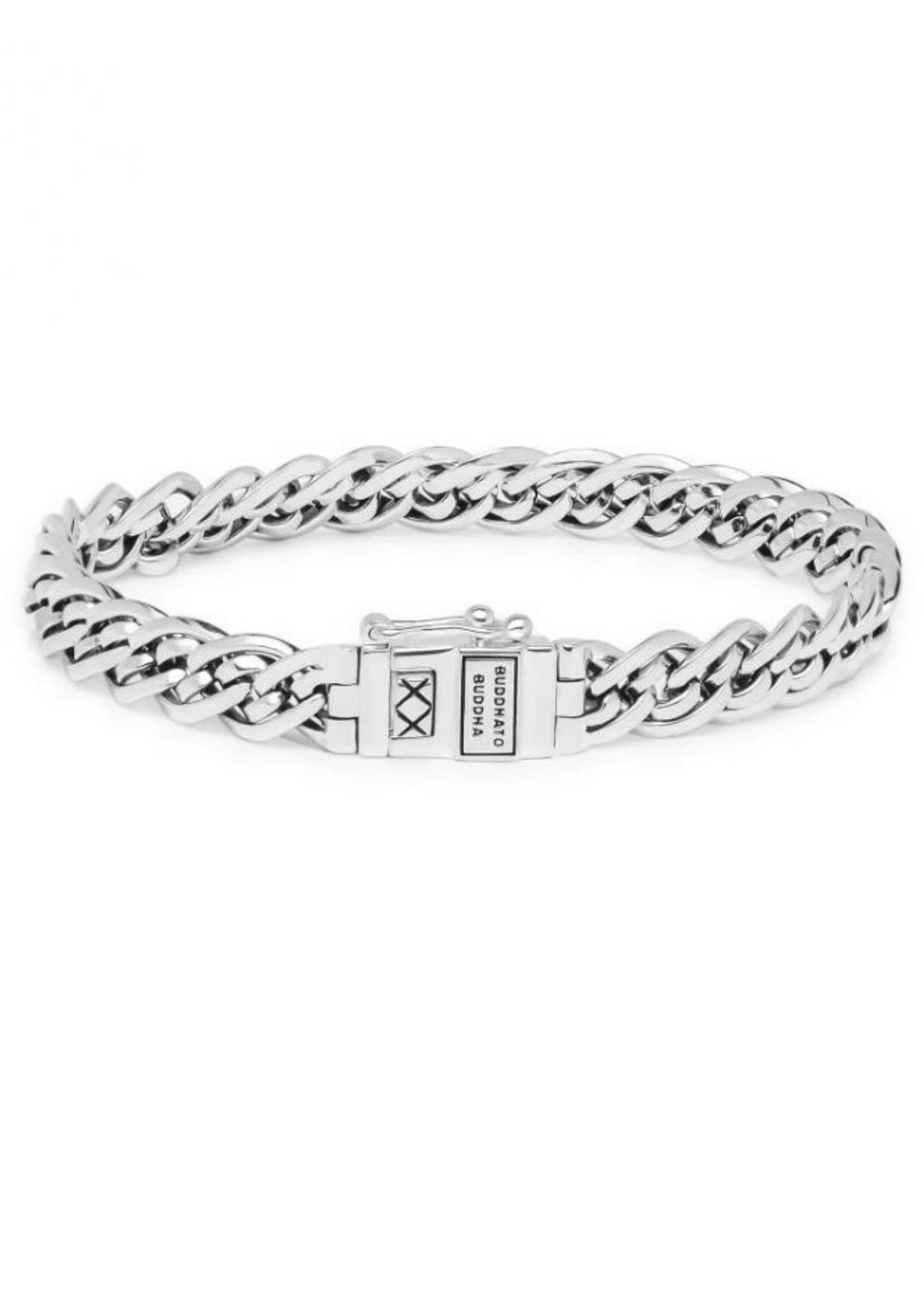 Buddha to Buddha 925 Sterling Zilveren J211 E Nathalie Mini Bracelet Silver 19cm