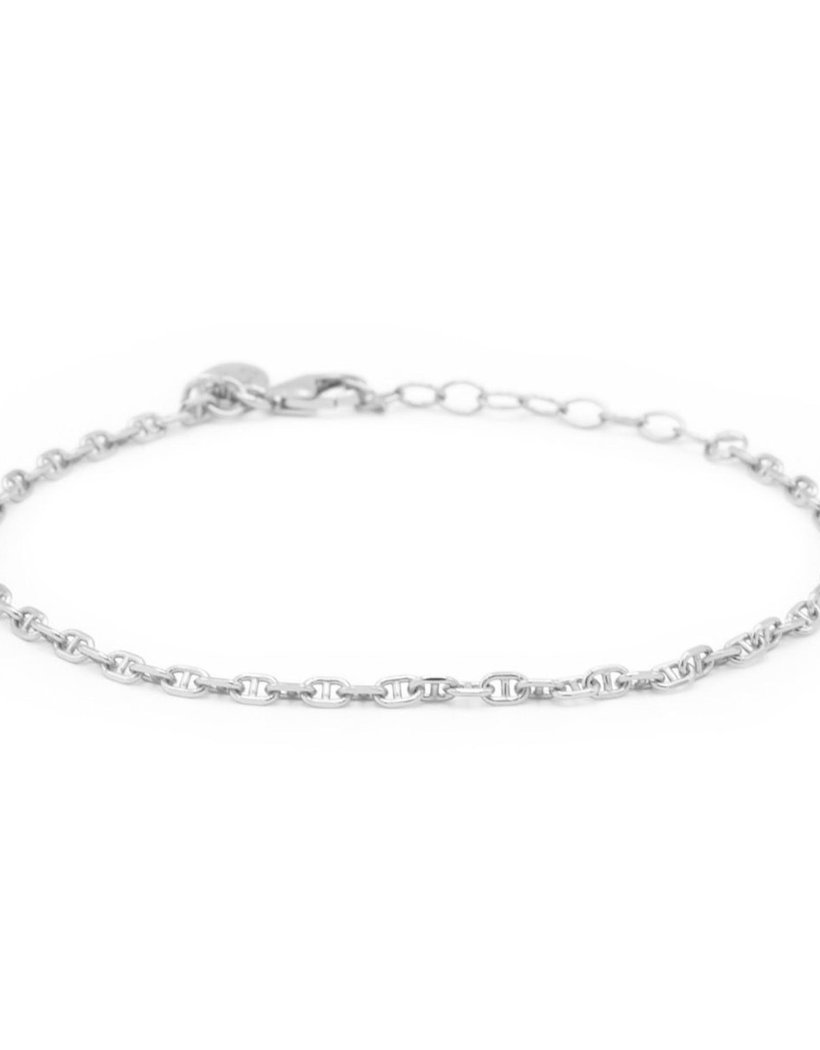 Karma Bracelet Queens Chain Silver